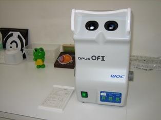両眼視機能検査(トレーニング)装置